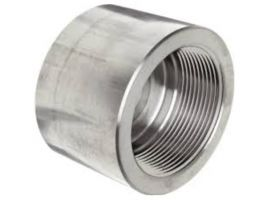 316/316L Forged Stainless Steel Pipe Fitting, Cap, Class 3000, 1/2