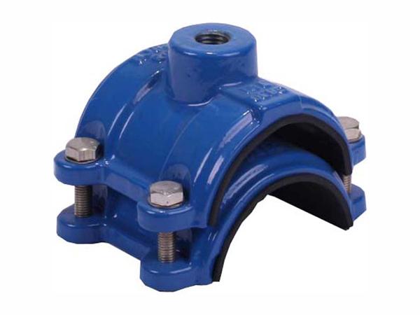 Saddle clamp for pvc pipe industrial valve yaki
